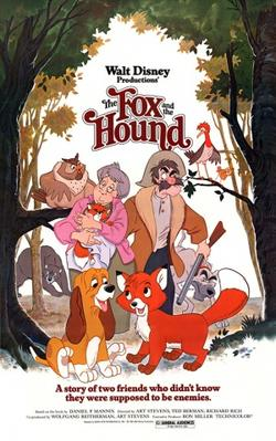 Fox and the Hound Poster