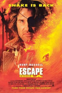 Film poster for Escape from L.A. - Copyright 1...