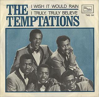 The Temptations I Wish it Would Rain (Single)