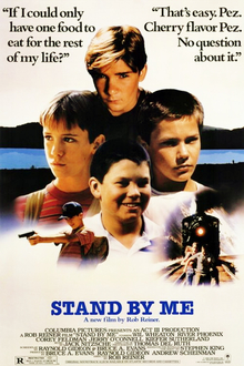 stand by me 1986 american theatrical release poster jpg