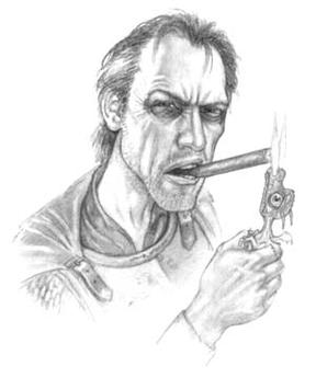 Samuel Vimes as he appears in The Pratchett Po...