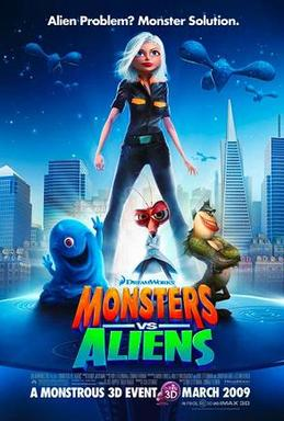 Monsters vs. Aliens (DreamWorks Animation - 2009)