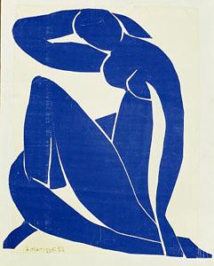 Henri Matisse, Blue Nude II, 1952, gouache déc...