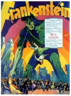 """The 1931 """"Lugosi as Frankenstein's Monste..."""
