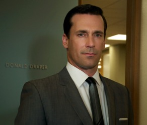 Don Draper (played by Jon Hamm in Mad Men) of ...