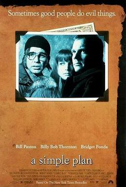 Image result for A Simple Plan  movie poster