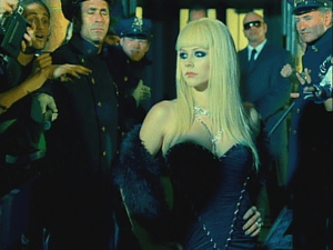 Lavigne in music video.