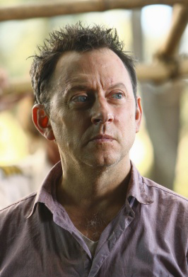 Michael Emerson as Ben Linus in the fourth sea...
