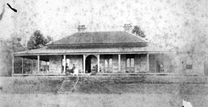 Early photograph of Herston House