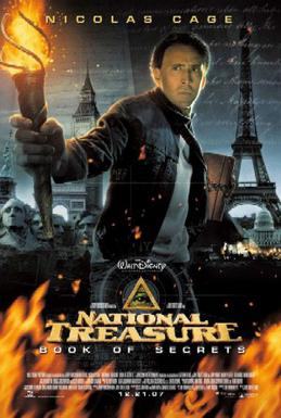 Film poster for National Treasure: Book of Sec...
