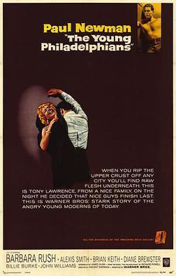 Póster original de la pel·lícula The Young Philadelphians