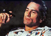 Robert DeNiro as Max Cady in the 1991 remake.