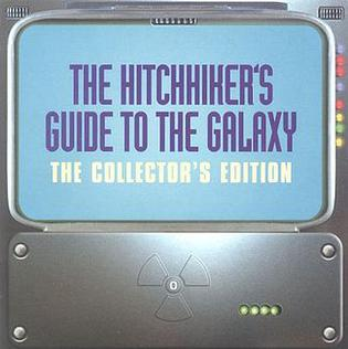 The Hitchhiker's Guide to the Galaxy - radio series collector's edition cover