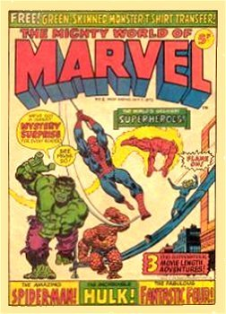 The Mighty World of Marvel, tão saudosa para os ingleses quanto Heróis da TV para nós.