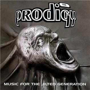 The Prodigy - Music for the Jilted Generation Artwork