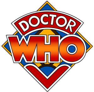 "The Doctor Who ""diamond"" logo, used ..."