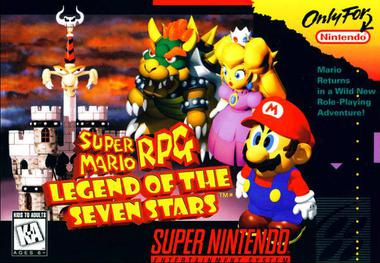 Image result for super mario rpg legend of the seven stars
