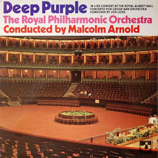 Portada de l'àlbum Concerto for Group and Orchestra, de Deep Purple