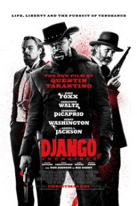 Poster for 2013 western film Django Unchained