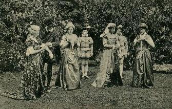 Love's Labour's Lost by Gresham's, c. 1914