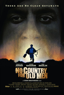no country for old men poster cover