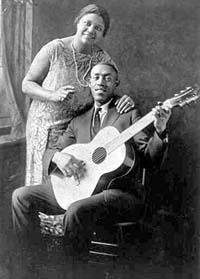 Sylvester Weaver with Sara Martin.