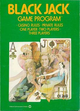 Blackjack Atari 2600 Video Game Wikipedia