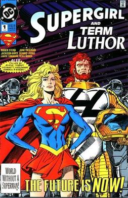Cover art to Supergirl/Team Luthor Special #1,...