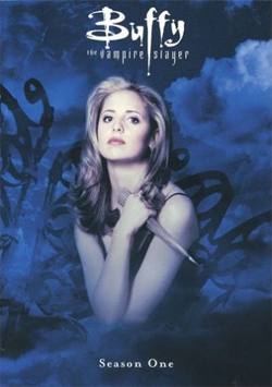 Buffy Season 1 DVD cover art.