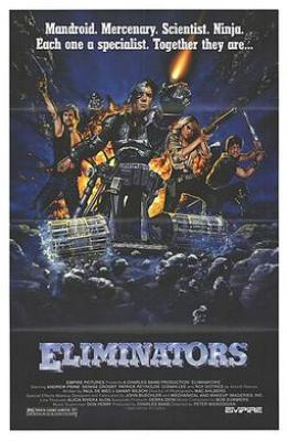 Film poster for Eliminators - Copyright 1986, ...
