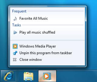 Windows Media Player JumpList.png