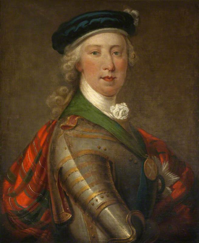 Prince Charles Edward as the Jacobite Leader