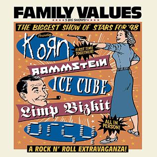 cover de l'album Family Values Tour 98