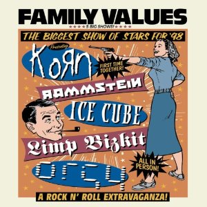 cover de l'album Family Values Tour 98