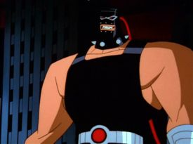 Bane's redesigned appearance in The New Batman...