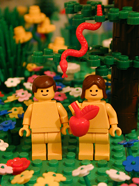 """Adam and Eve"" from The Brick Testam..."