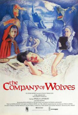 The Company of Wolves [1994] was based on a series of werewolf short stories by Angela Carter.