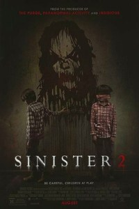Poster for 2015 horror sequel Sinister 2