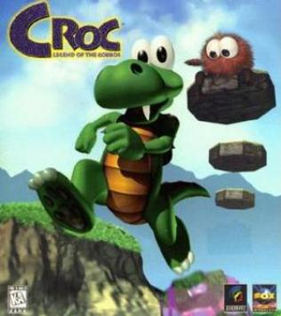 Croc: Legend of the Gobbos game cover