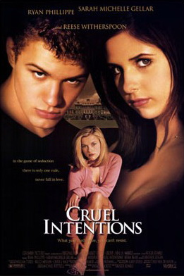 Film poster for Cruel Intentions - Copyright 1...