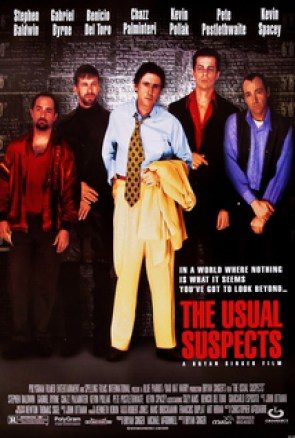 the usual suspects film poster