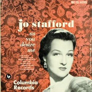 As You Desire Me Jo Stafford Album Wikipedia