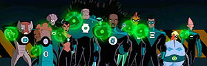 Members as seen in the Justice League Unlimite...