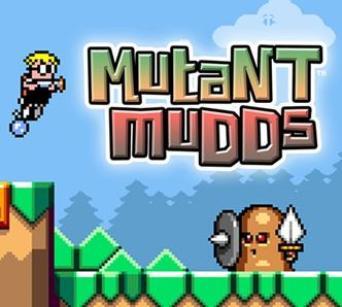 Mutant Mudds art