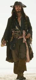 Jack Sparrow In Pirates of the Caribbean- At W...