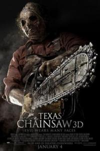 Poster for 2013 horror film Texas Chainsaw 3D