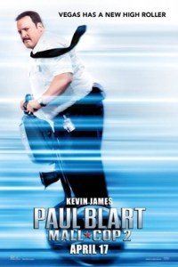 Poster for 2015 comedy sequel Paul Blart: Mall Cop 2