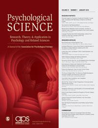 Psychological Science (journal)