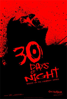 30 Days of Night teaser poster