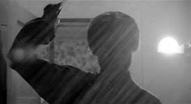 The shadowy mother figure from the infamous sh...